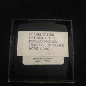 Chanel 3-Dore Natural Pressed Powder Tester